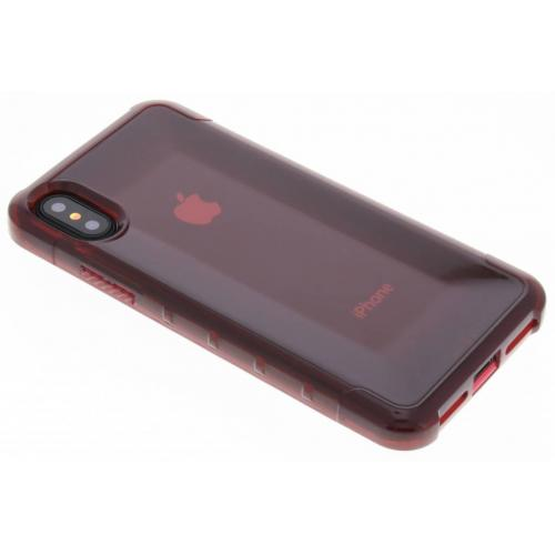 Plyo Backcover voor iPhone X / Xs - Rood