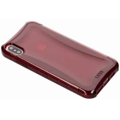 Plyo Backcover voor iPhone Xs Max - Rood