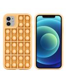 Pop It Fidget Toy - Pop It hoesje voor de iPhone 11 - Goud