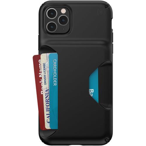 Presidio Wallet Backcover voor de iPhone 11 Pro Max - Zwart