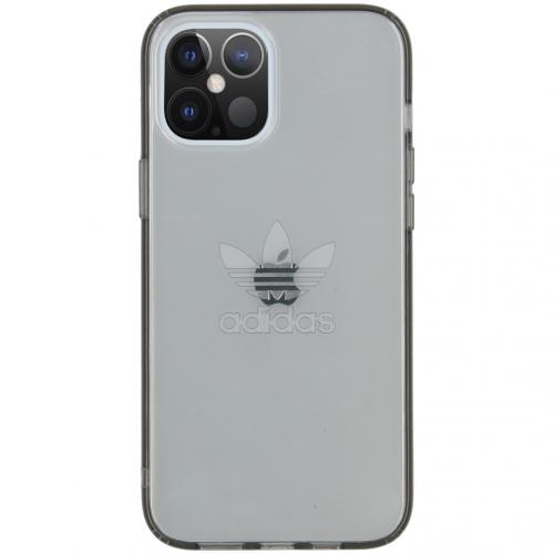 Protective Clear Backcover voor de iPhone 12 Pro Max - Smokey Black