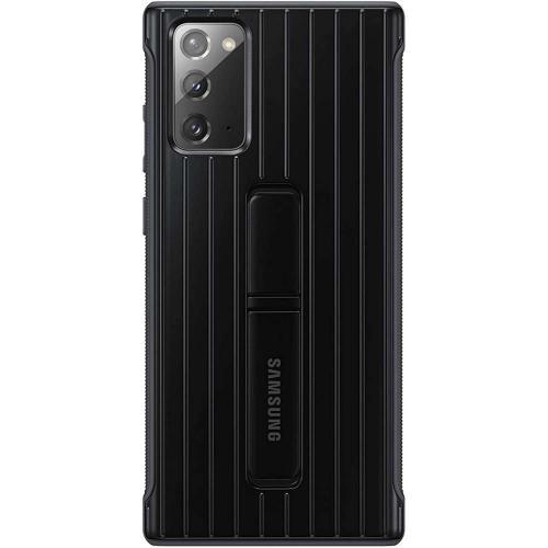 Protective Standing Backcover voor de Galaxy Note 20 - Zwart