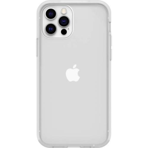 React Backcover + Screenprotector voor de iPhone 12 (Pro) - Transparant