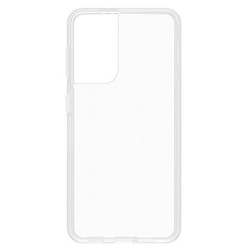 React Backcover + Screenprotector voor de Samsung Galaxy S21 Ultra - Transparant