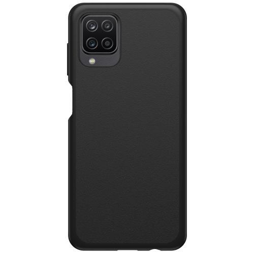 React Backcover voor de Samsung Galaxy A12 - Zwart