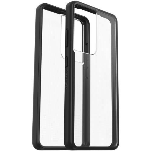 React Backcover voor de Samsung Galaxy S21 Ultra - Black Crystal