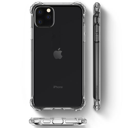 Rugged Crystal Backcover voor de iPhone 11 Pro Max - Transparant