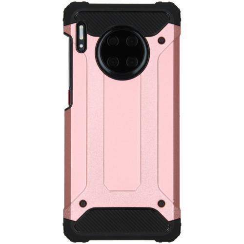 Rugged Xtreme Backcover Huawei Mate 30 Pro - Rosé Goud