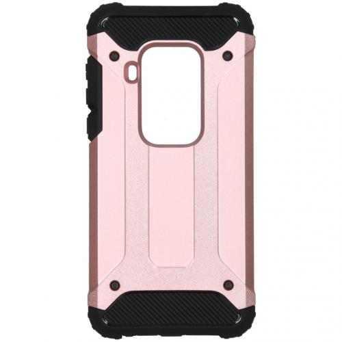 Rugged Xtreme Backcover Motorola One Zoom - Rosé Goud