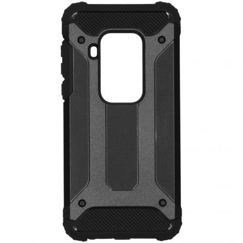 Rugged Xtreme Backcover Motorola One Zoom - Zwart