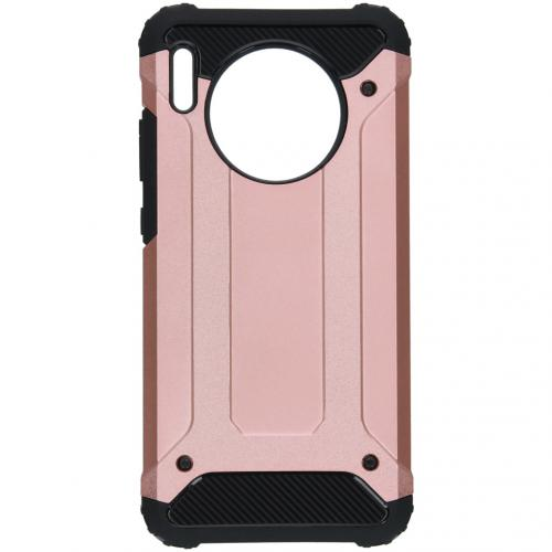 Rugged Xtreme Backcover voor de Huawei Mate 30 - Rosé Goud