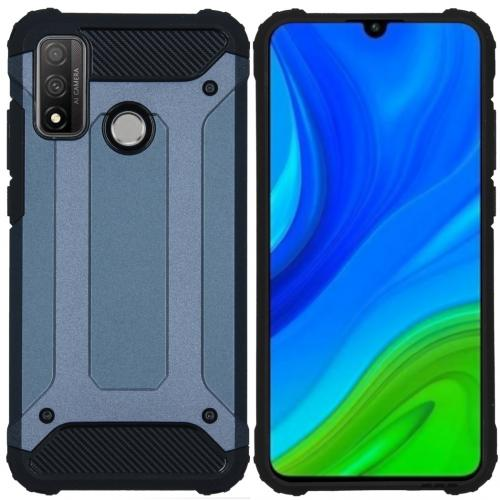 Rugged Xtreme Backcover voor de Huawei P Smart (2020) - Donkerblauw