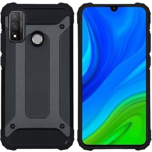 Rugged Xtreme Backcover voor de Huawei P Smart (2020) - Zwart