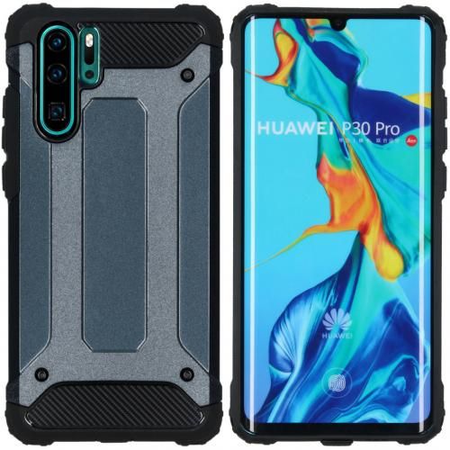Rugged Xtreme Backcover voor de Huawei P30 Pro - Donkerblauw