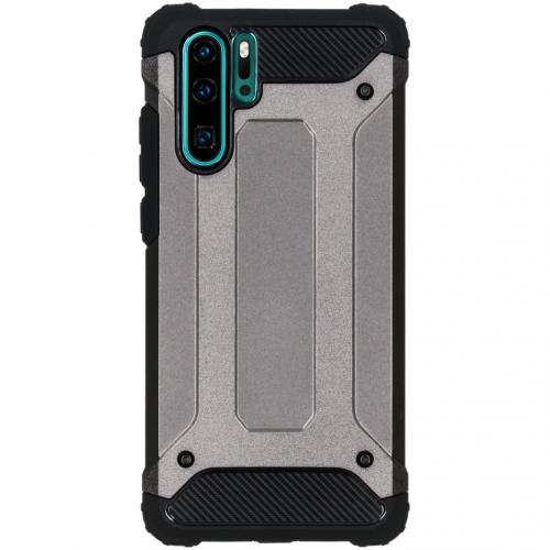 Rugged Xtreme Backcover voor de Huawei P30 Pro - Grijs