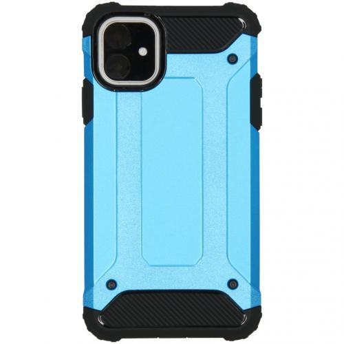 Rugged Xtreme Backcover voor de iPhone 11 - Lichtblauw