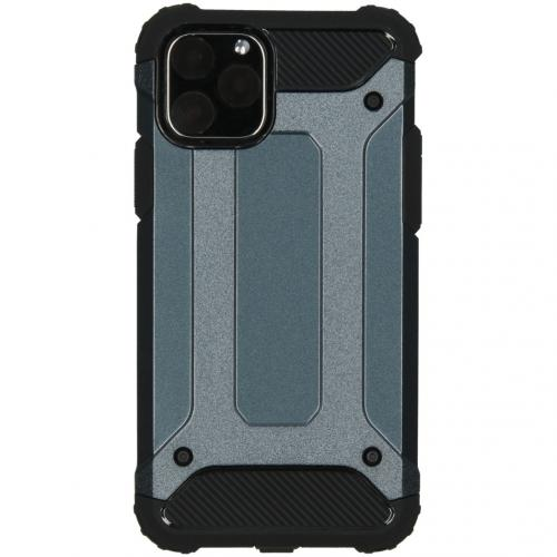 Rugged Xtreme Backcover voor de iPhone 11 Pro - Donkerblauw