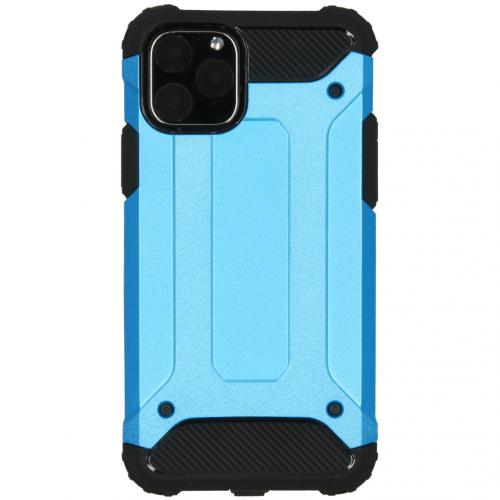 Rugged Xtreme Backcover voor de iPhone 11 Pro - Lichtblauw