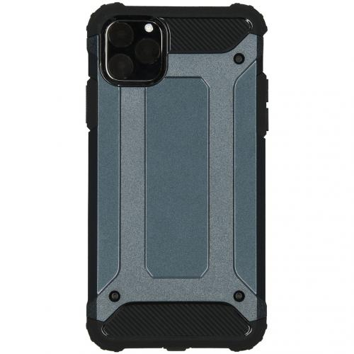 Rugged Xtreme Backcover voor de iPhone 11 Pro Max - Donkerblauw