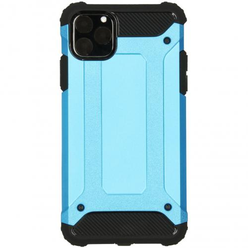 Rugged Xtreme Backcover voor de iPhone 11 Pro Max - Lichtblauw