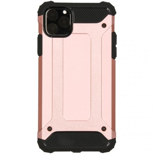 Rugged Xtreme Backcover voor de iPhone 11 Pro Max - Rosé Goud