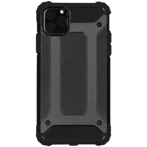 Rugged Xtreme Backcover voor de iPhone 11 Pro Max - Zwart