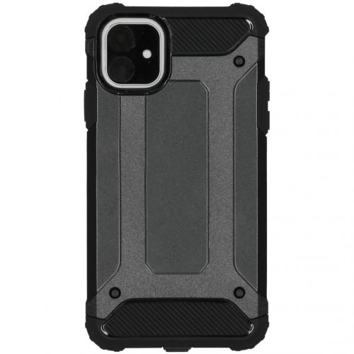 Rugged Xtreme Backcover voor de iPhone 11 - Zwart
