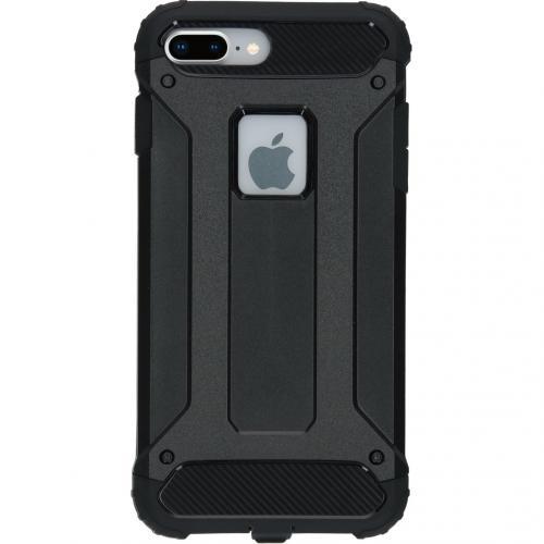 Rugged Xtreme Backcover voor de iPhone 8 Plus / 7 Plus - Zwart