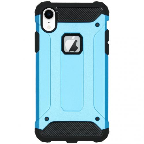 Rugged Xtreme Backcover voor de iPhone Xr - Lichtblauw