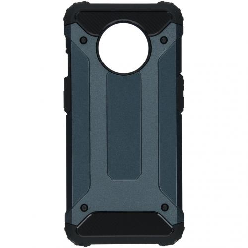 Rugged Xtreme Backcover voor de OnePlus 7T - Donkerblauw