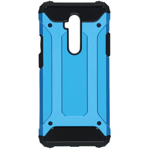 Rugged Xtreme Backcover voor de OnePlus 7T Pro - Lichtblauw