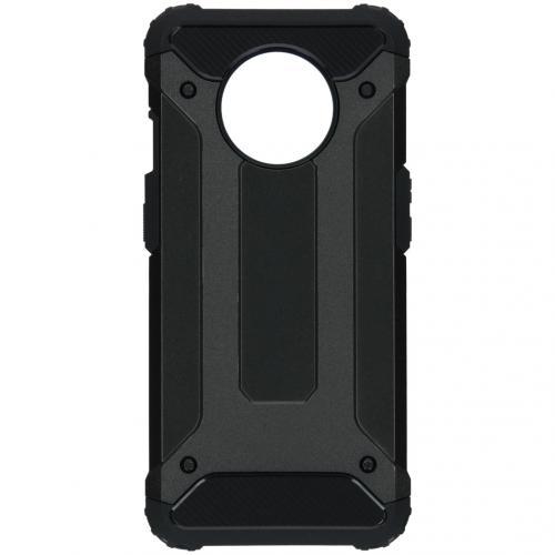 Rugged Xtreme Backcover voor de OnePlus 7T - Zwart