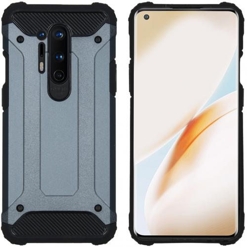 Rugged Xtreme Backcover voor de OnePlus 8 Pro - Donkerblauw