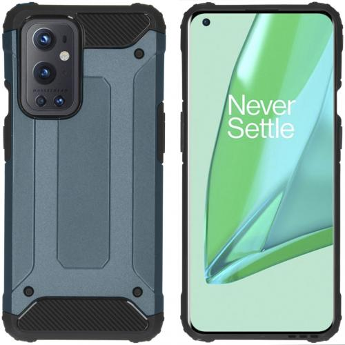 Rugged Xtreme Backcover voor de OnePlus 9 Pro - Donkerblauw
