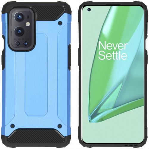 Rugged Xtreme Backcover voor de OnePlus 9 Pro - Lichtblauw