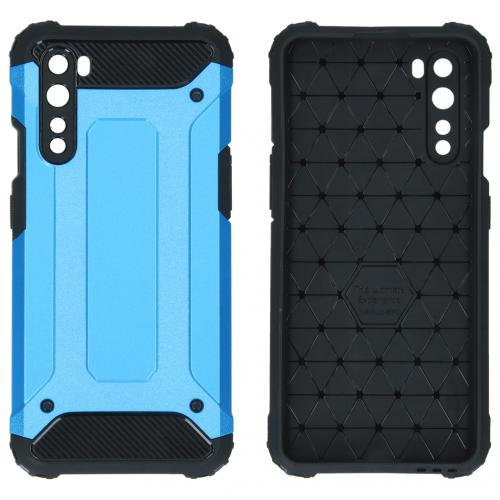 Rugged Xtreme Backcover voor de OnePlus Nord - Lichtblauw