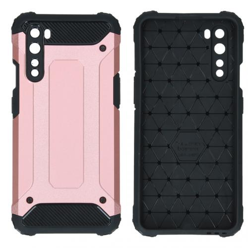 Rugged Xtreme Backcover voor de OnePlus Nord - Rosé Goud