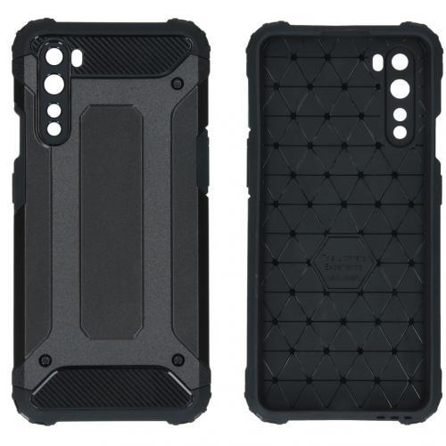 Rugged Xtreme Backcover voor de OnePlus Nord - Zwart