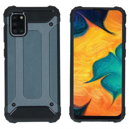 Rugged Xtreme Backcover voor de Samsung Galaxy A31 - Donkerblauw