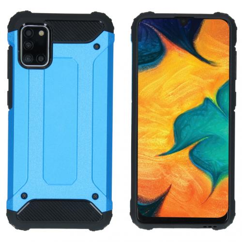 Rugged Xtreme Backcover voor de Samsung Galaxy A31 - Lichtblauw