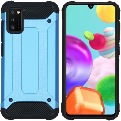 Rugged Xtreme Backcover voor de Samsung Galaxy A41 - Lichtblauw