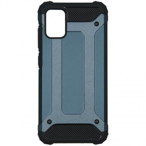 Rugged Xtreme Backcover voor de Samsung Galaxy A51 - Donkerblauw