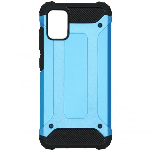 Rugged Xtreme Backcover voor de Samsung Galaxy A51 - Lichtblauw