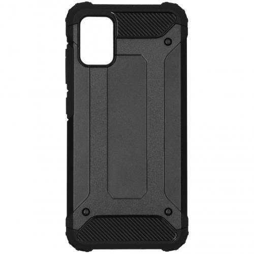 Rugged Xtreme Backcover voor de Samsung Galaxy A51 - Zwart