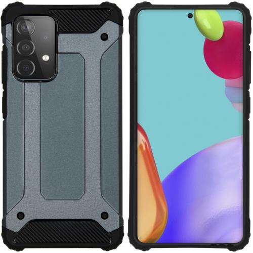 Rugged Xtreme Backcover voor de Samsung Galaxy A52 (5G) / A52 (4G) - Donkerblauw