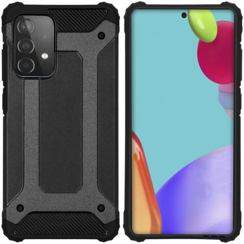 Rugged Xtreme Backcover voor de Samsung Galaxy A52 (5G) / A52 (4G) - Zwart