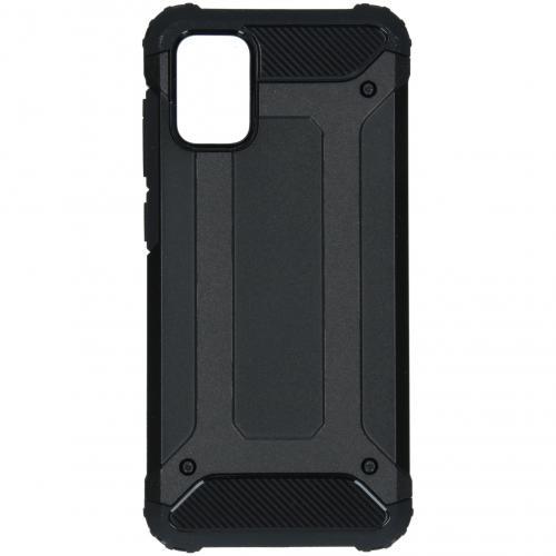 Rugged Xtreme Backcover voor de Samsung Galaxy A71 - Zwart