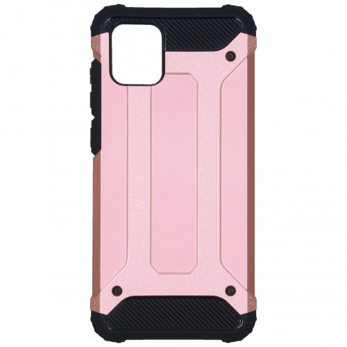 Rugged Xtreme Backcover voor de Samsung Galaxy Note 10 Lite - Rosé Goud
