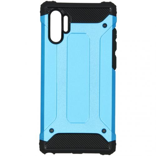 Rugged Xtreme Backcover voor de Samsung Galaxy Note 10 Plus - Lichtblauw