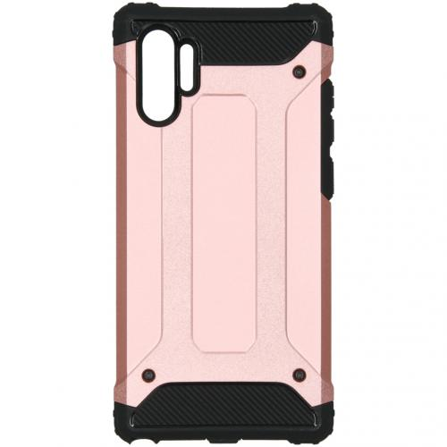 Rugged Xtreme Backcover voor de Samsung Galaxy Note 10 Plus - Rosé Goud